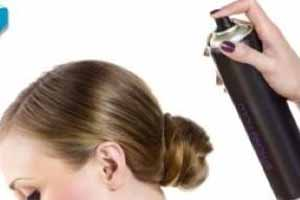 Hair spray to eliminate cockroaches